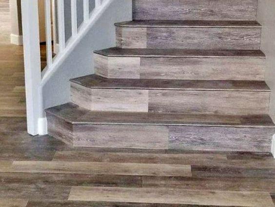 Coretec Vinyl Plank Stair Treads